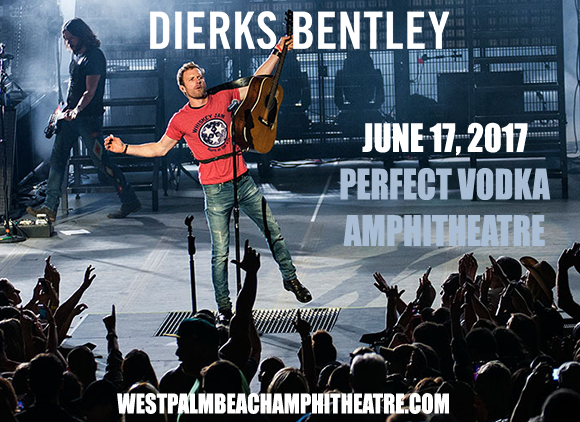 Dierks Bentley, Cole Swindell & Jon Pardi  at Perfect Vodka Amphitheatre