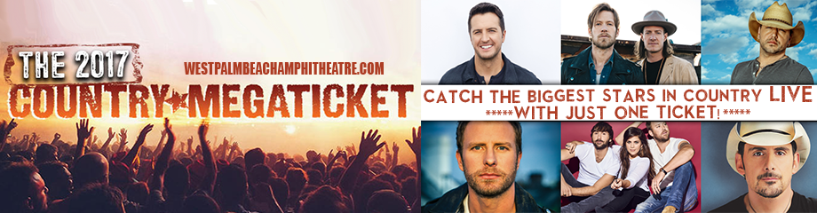 2017 Country Megaticket Tickets (Includes All Performances) at Perfect Vodka Amphitheatre