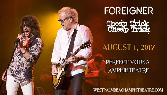 Foreigner, Cheap Trick & Jason Bonham's Led Zeppelin Experience at Perfect Vodka Amphitheatre