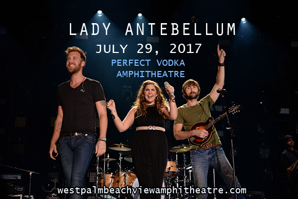 Lady Antebellum, Kelsea Ballerini & Brett Young at Perfect Vodka Amphitheatre