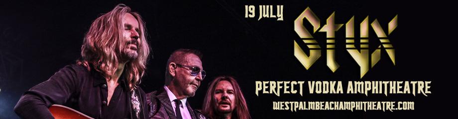 Styx, REO Speedwagon & Don Felder  at Perfect Vodka Amphitheatre
