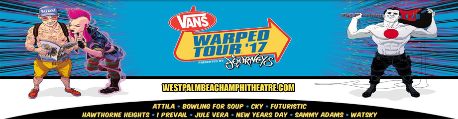 Vans Warped Tour at Perfect Vodka Amphitheatre