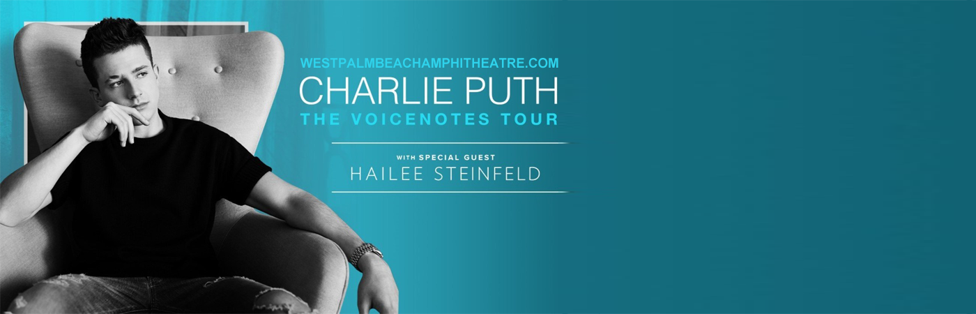 Charlie Puth & Hailee Steinfeld at Coral Sky Amphitheatre