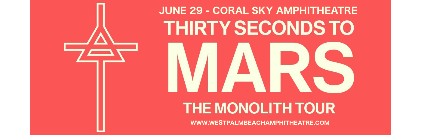 30 Seconds To Mars, Walk The Moon & MisterWives at Coral Sky Amphitheatre