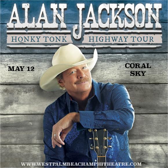 Alan Jackson at Coral Sky Amphitheatre