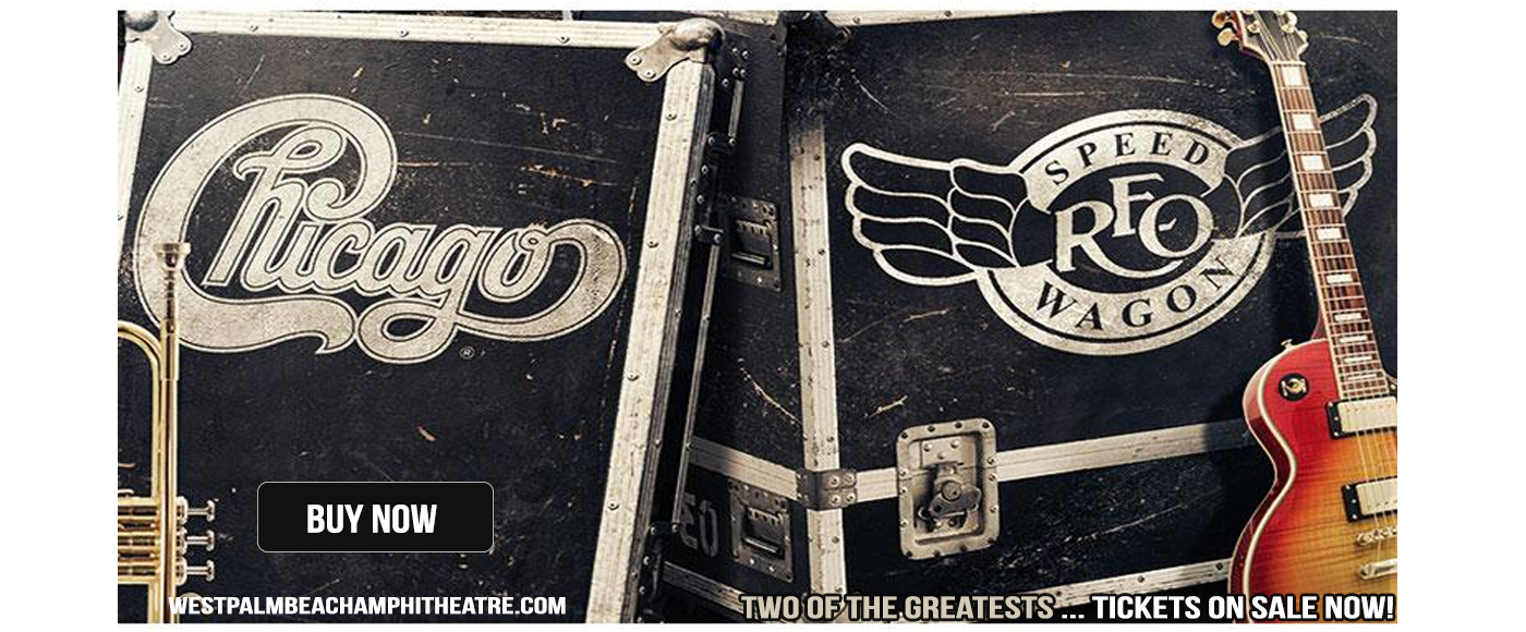 Chicago & REO Speedwagon at Coral Sky Amphitheatre