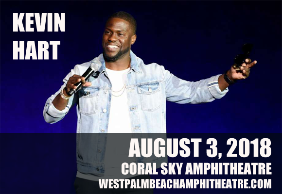 Kevin Hart at Coral Sky Amphitheatre