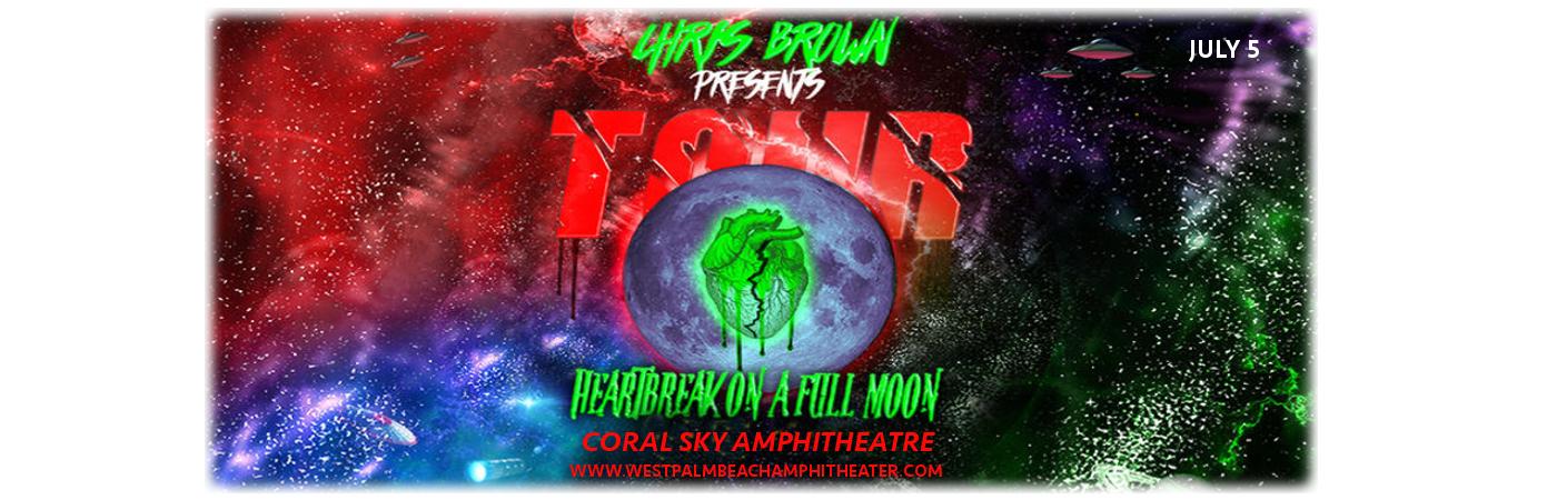Chris Brown at Coral Sky Amphitheatre