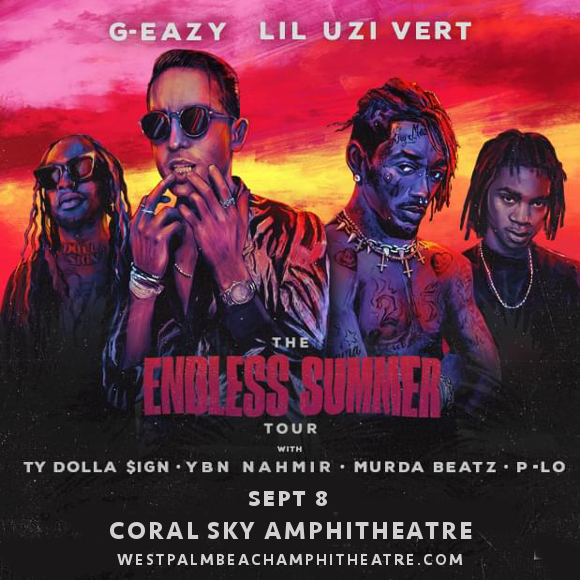 G-Eazy, Ty Dolla Sign & Lil Uzi Vert at Coral Sky Amphitheatre