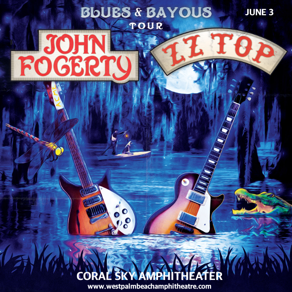 John Fogerty & ZZ Top at Coral Sky Amphitheatre