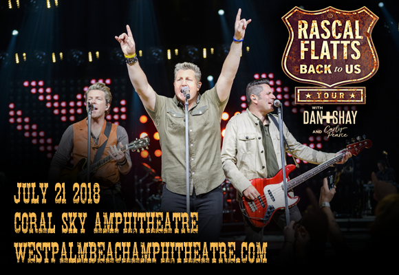 Rascal Flatts, Dan and Shay & Carly Pearce at Coral Sky Amphitheatre