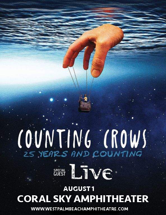 Counting Crows & Live - Band at Coral Sky Amphitheatre