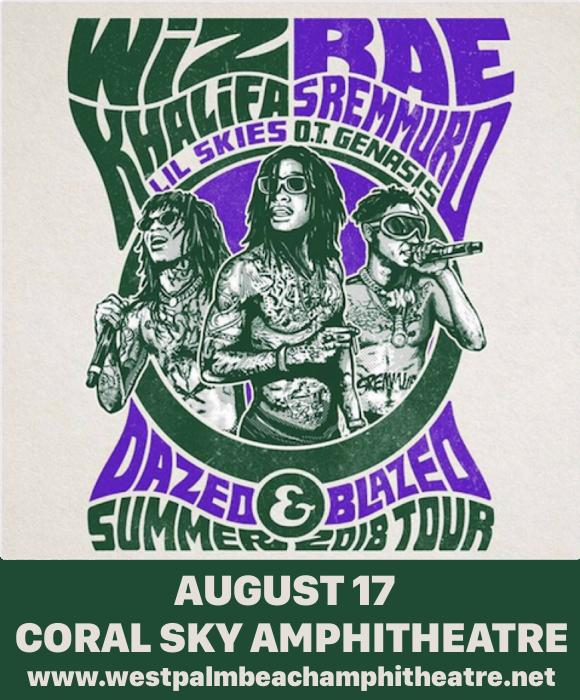 Wiz Khalifa & Rae Sremmurd at Coral Sky Amphitheatre