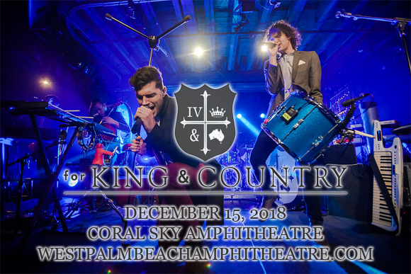 For King and Country at Coral Sky Amphitheatre