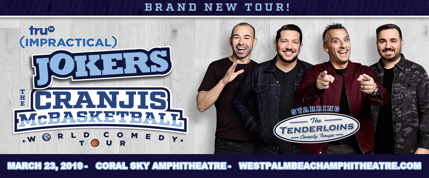 Cast of Impractical Jokers & The Tenderloins at Coral Sky Amphitheatre