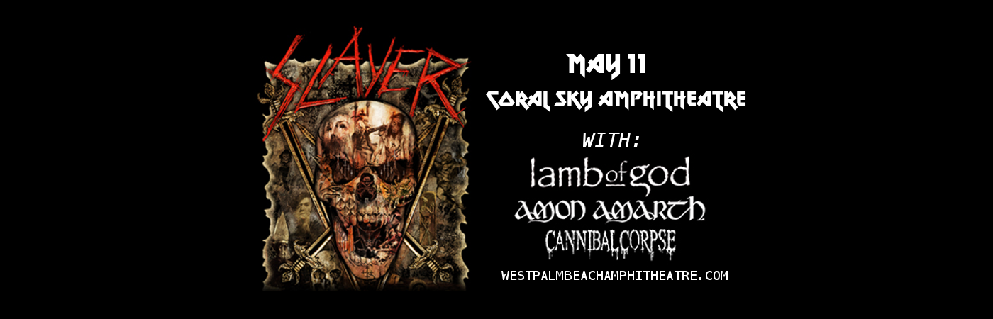 Slayer at Coral Sky Amphitheatre