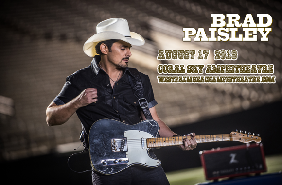 Brad Paisley, Chris Lane & Riley Green at Coral Sky Amphitheatre