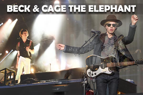 Beck & Cage The Elephant at Coral Sky Amphitheatre