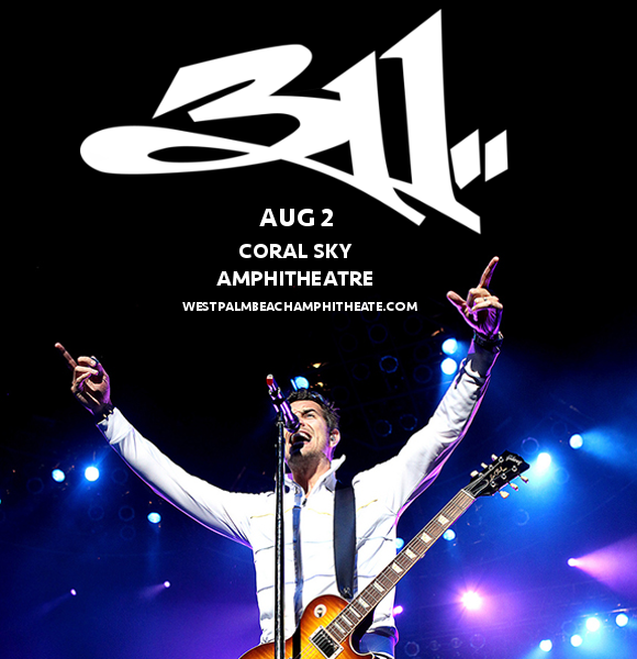 311 & The Dirty Heads at Coral Sky Amphitheatre