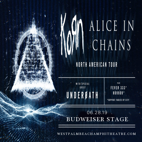 Korn & Alice In Chains at Coral Sky Amphitheatre