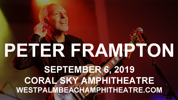 Peter Frampton at Coral Sky Amphitheatre