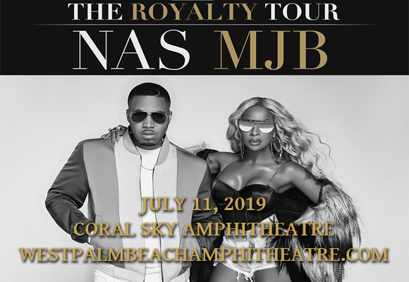 Mary J. Blige & Nas at Coral Sky Amphitheatre