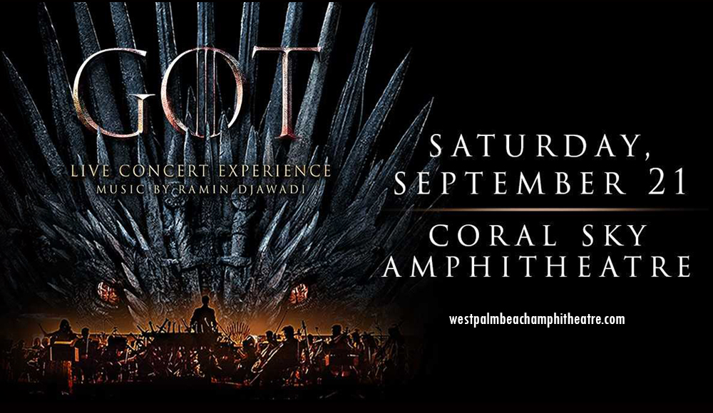Game of Thrones Live Concert Experience at Coral Sky Amphitheatre
