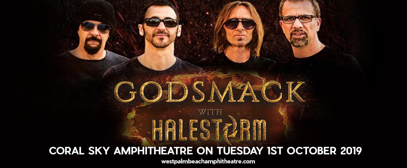 Godsmack & Halestorm at Coral Sky Amphitheatre