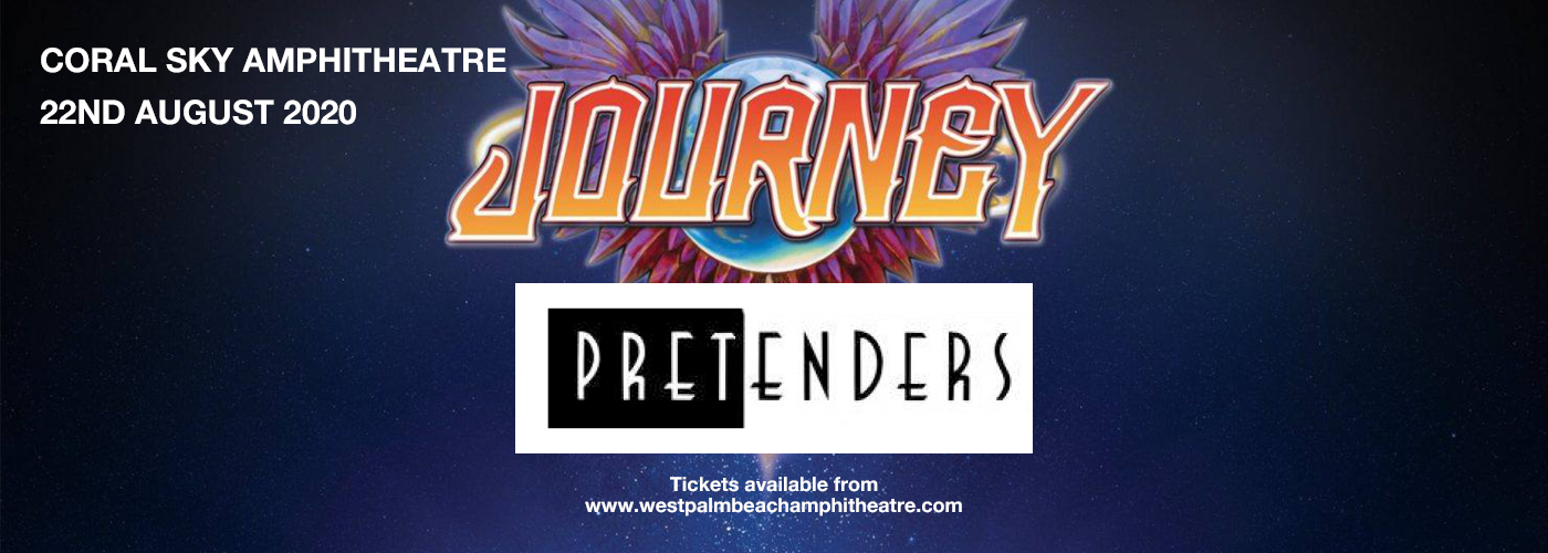 Journey & The Pretenders at Coral Sky Amphitheatre