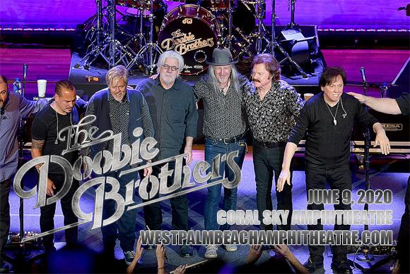 The Doobie Brothers & Michael McDonald at Coral Sky Amphitheatre