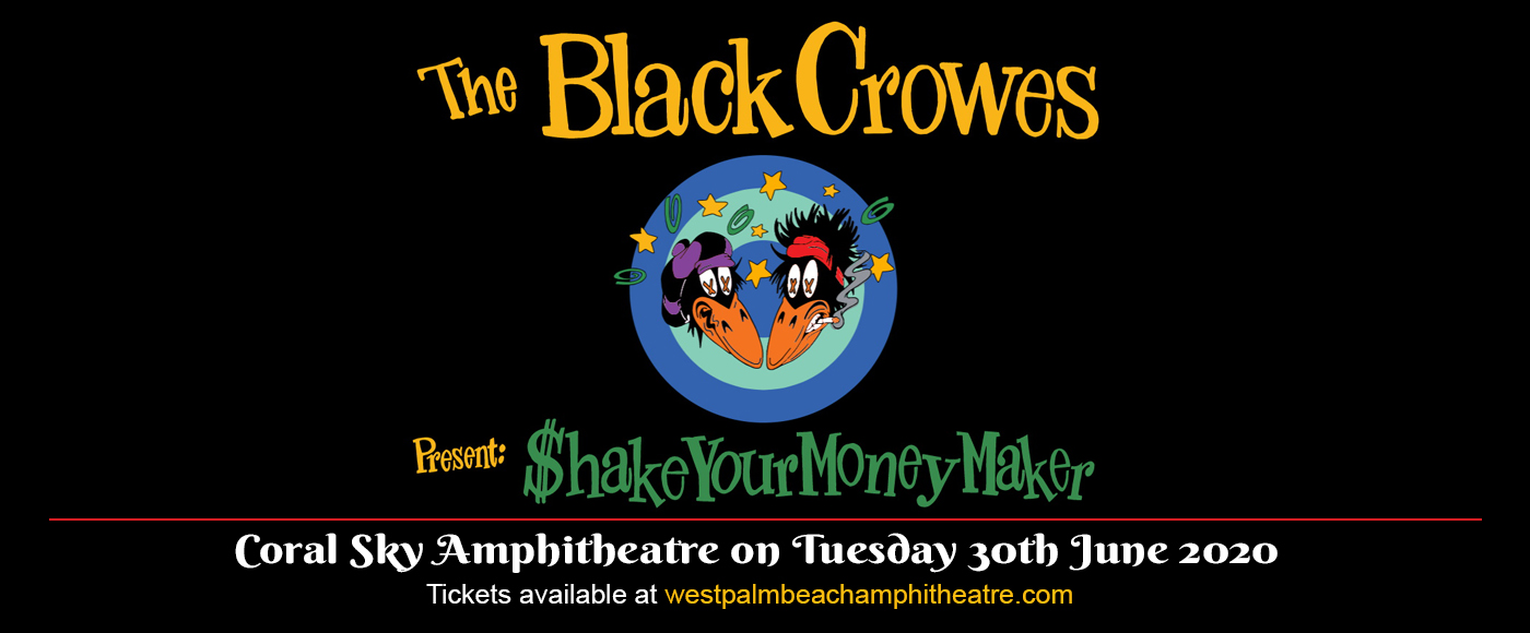 The Black Crowes at Coral Sky Amphitheatre