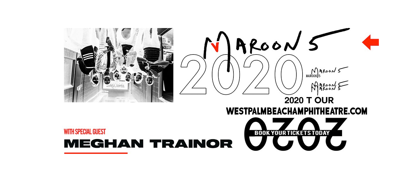 Maroon 5 & Meghan Trainor at Coral Sky Amphitheatre