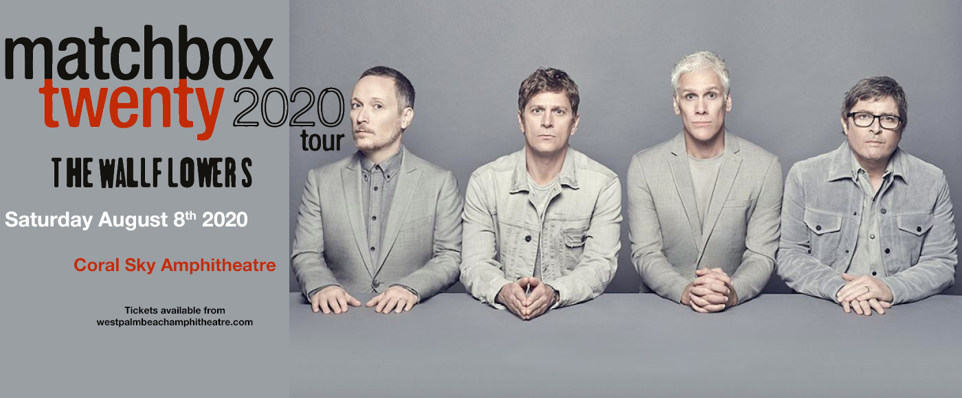 Matchbox Twenty & The Wallflowers at Coral Sky Amphitheatre