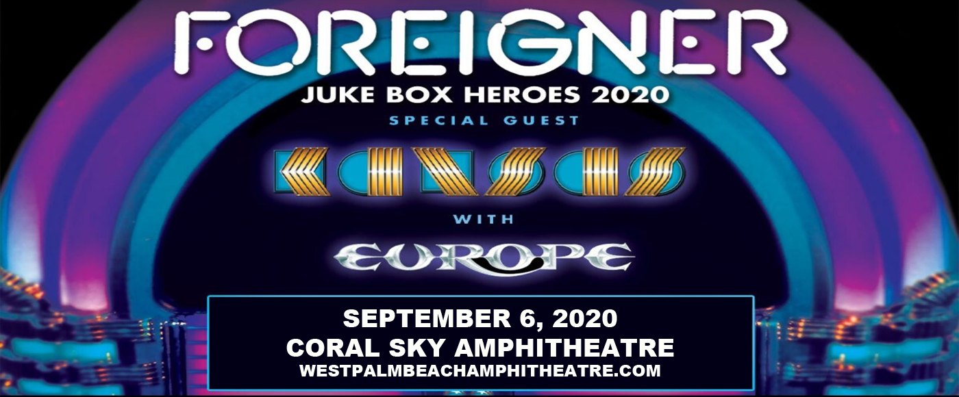 Foreigner, Kansas - The Band & Europe at Coral Sky Amphitheatre