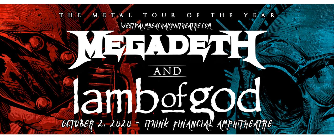 Megadeth & Lamb of God at iTHINK Financial Amphitheatre