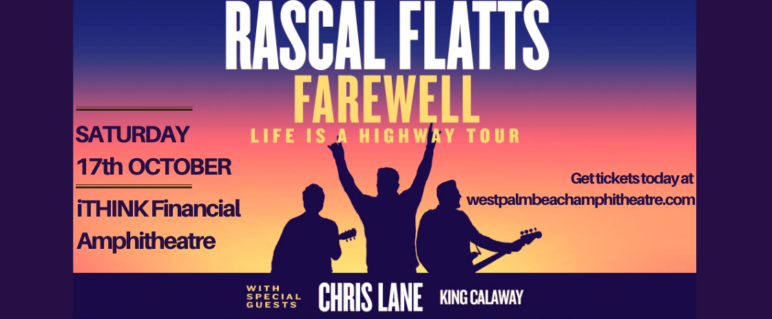 Rascal Flatts [CANCELLED] at iTHINK Financial Amphitheatre