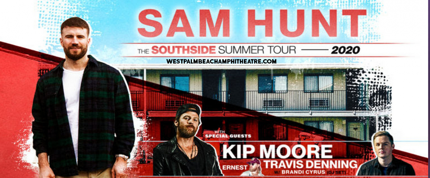 Sam Hunt, Kip Moore & Travis Denning [CANCELLED] at iTHINK Financial Amphitheatre