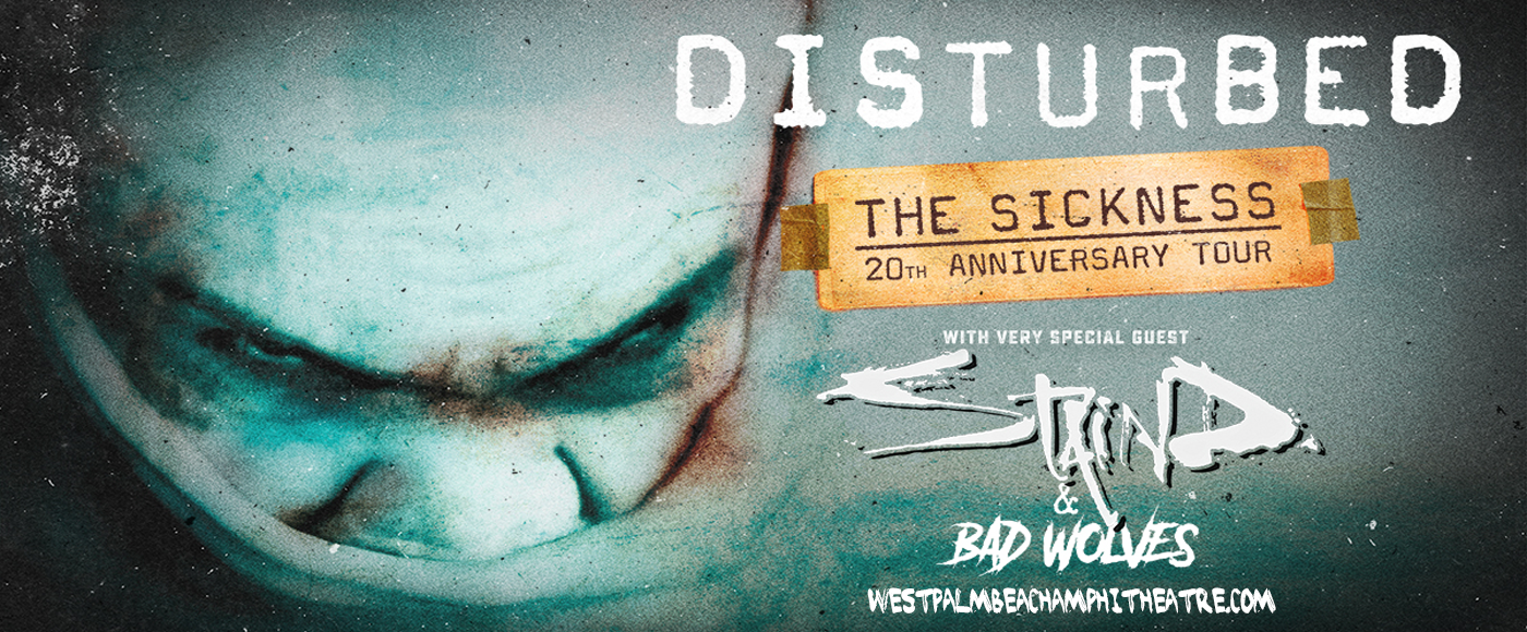 Disturbed, Staind & Bad Wolves [POSTPONED] at iTHINK Financial Amphitheatre