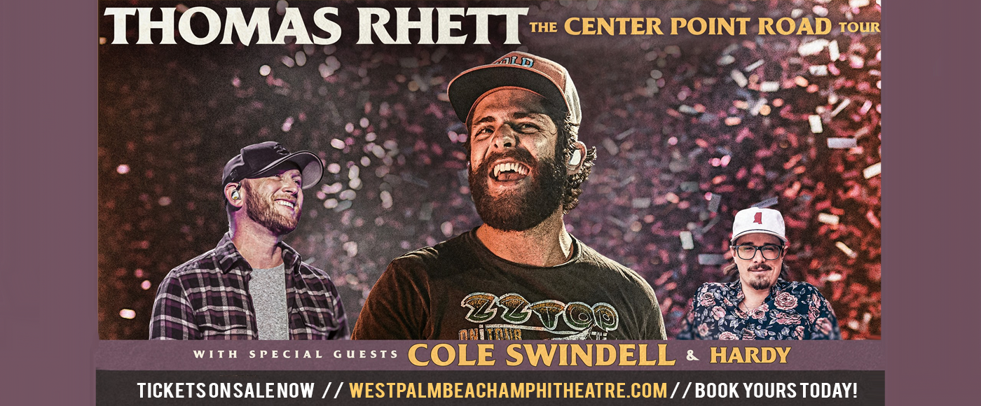Thomas Rhett & Cole Swindell [CANCELLED] at iTHINK Financial Amphitheatre