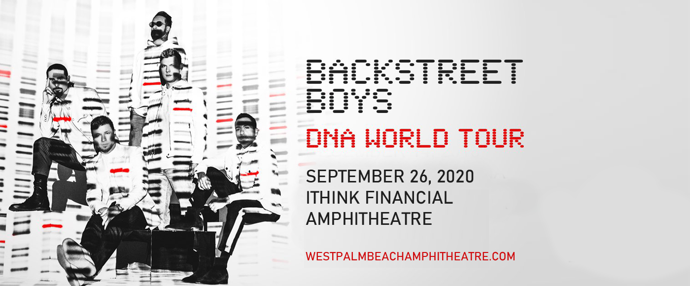 Backstreet Boys at iTHINK Financial Amphitheatre