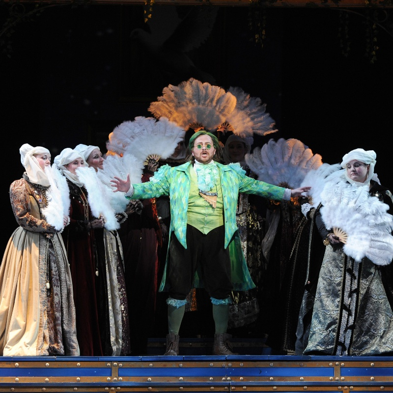 Palm Beach Opera: Die Zauberflote at iTHINK Financial Amphitheatre
