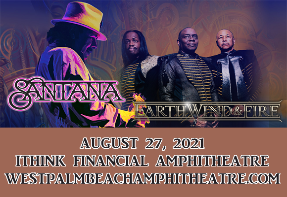 Santana & Earth, Wind and Fire at iTHINK Financial Amphitheatre