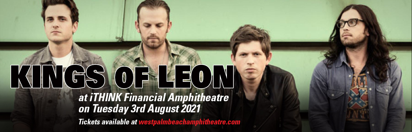 Kings of Leon at iTHINK Financial Amphitheatre