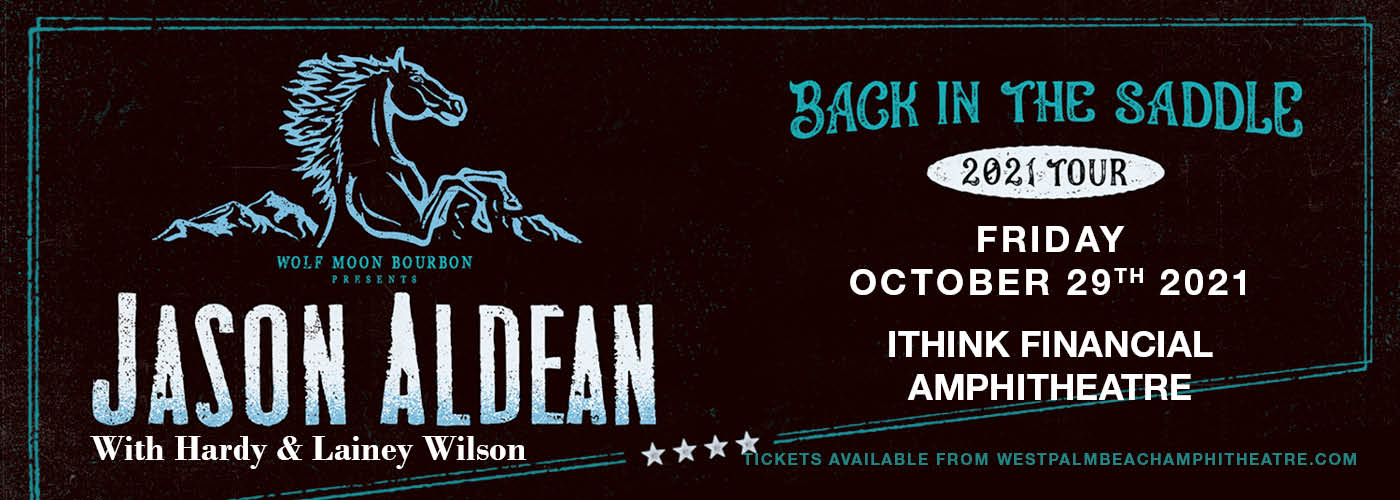 Jason Aldean: Back In The Saddle Tour at iTHINK Financial Amphitheatre