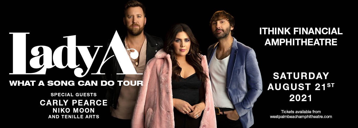Lady A: What A Song Can Do Tour at iTHINK Financial Amphitheatre
