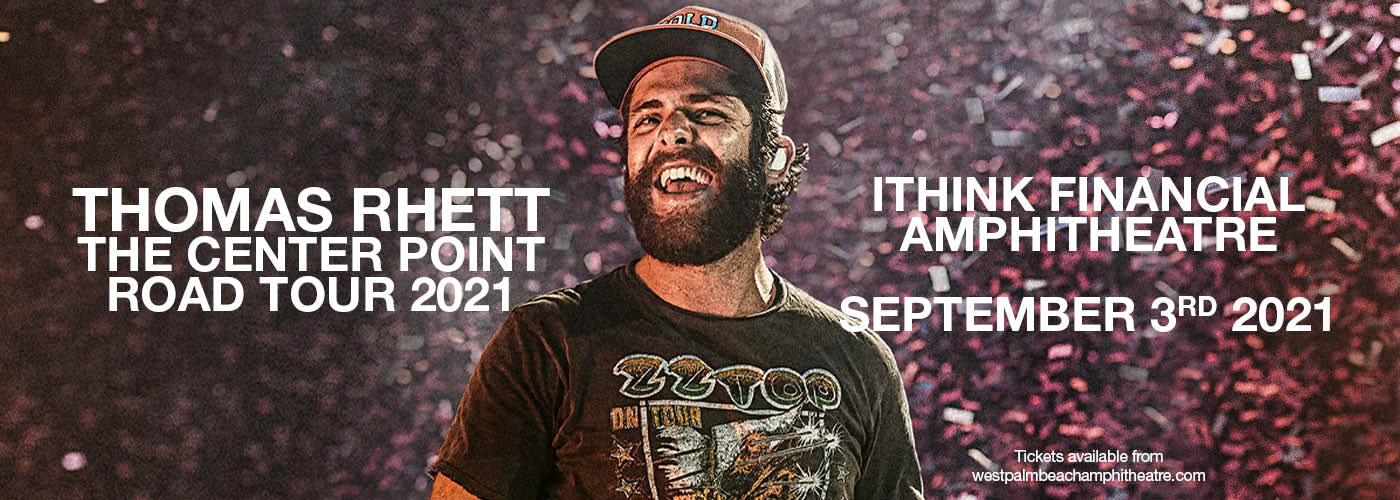 Thomas Rhett: The Center Point Road Tour 2021 at iTHINK Financial Amphitheatre