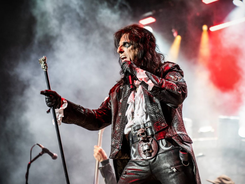 Alice Cooper & Ace Frehley at iTHINK Financial Amphitheatre