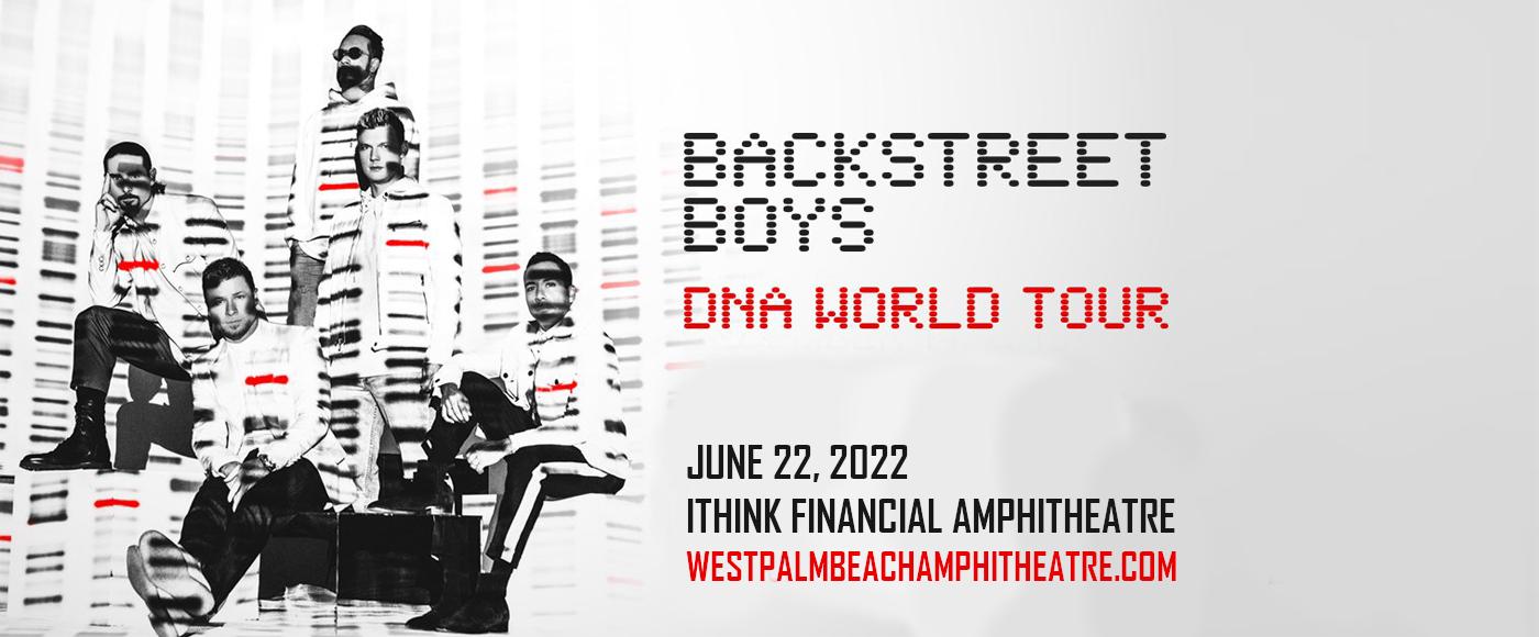 Backstreet Boys at iTHINK Financial Amphitheatre