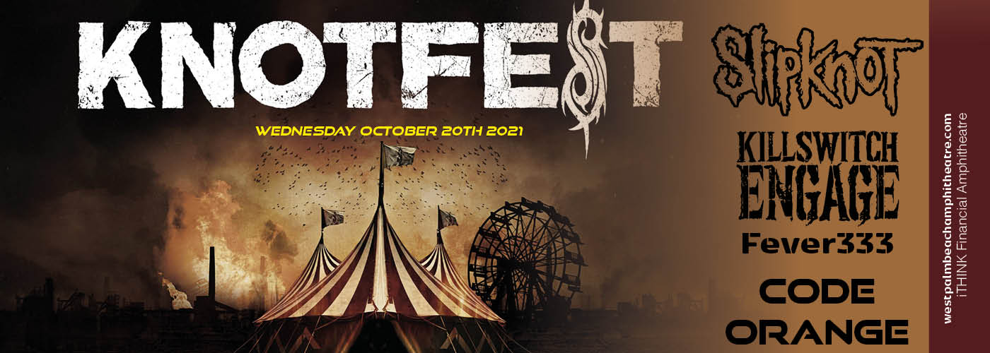 Knotfest Roadshow: Slipknot, Killswitch Engage, Fever333 & Code Orange at iTHINK Financial Amphitheatre