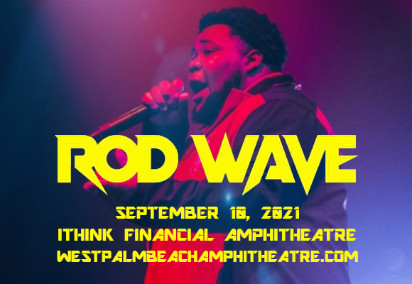 Rod Wave at iTHINK Financial Amphitheatre